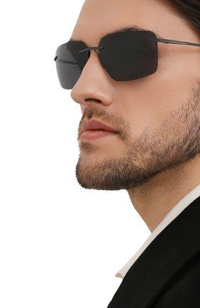 Мужские солнцезащитные очки PORSCHE DESIGN черного цвета, арт. 8923-A | Фото 2