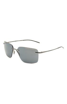 Мужские солнцезащитные очки PORSCHE DESIGN темно-серого цвета, арт. 8923-C | Фото 1