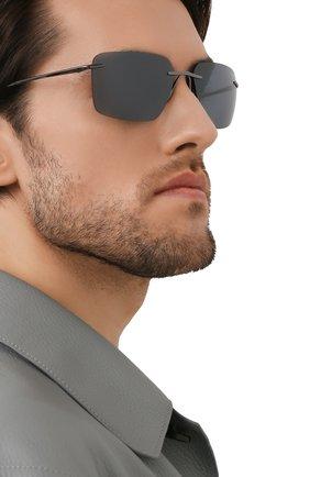 Мужские солнцезащитные очки PORSCHE DESIGN темно-серого цвета, арт. 8923-C | Фото 2