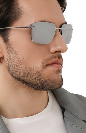 Мужские солнцезащитные очки PORSCHE DESIGN серого цвета, арт. 8923-D | Фото 2
