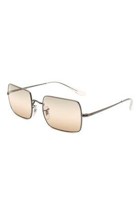 Женские солнцезащитные очки RAY-BAN коричневого цвета, арт. 1969-004/GC | Фото 1