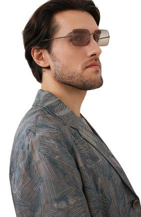 Женские солнцезащитные очки RAY-BAN коричневого цвета, арт. 1969-004/GC | Фото 3