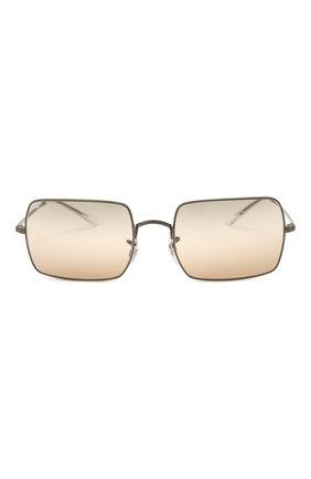 Женские солнцезащитные очки RAY-BAN коричневого цвета, арт. 1969-004/GC | Фото 4