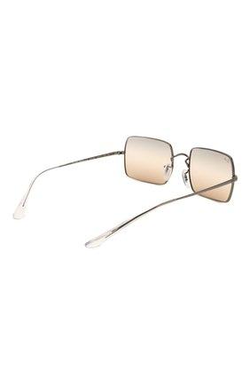 Женские солнцезащитные очки RAY-BAN коричневого цвета, арт. 1969-004/GC | Фото 5