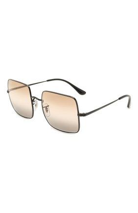 Женские солнцезащитные очки RAY-BAN черного цвета, арт. 1971-002/GG | Фото 1