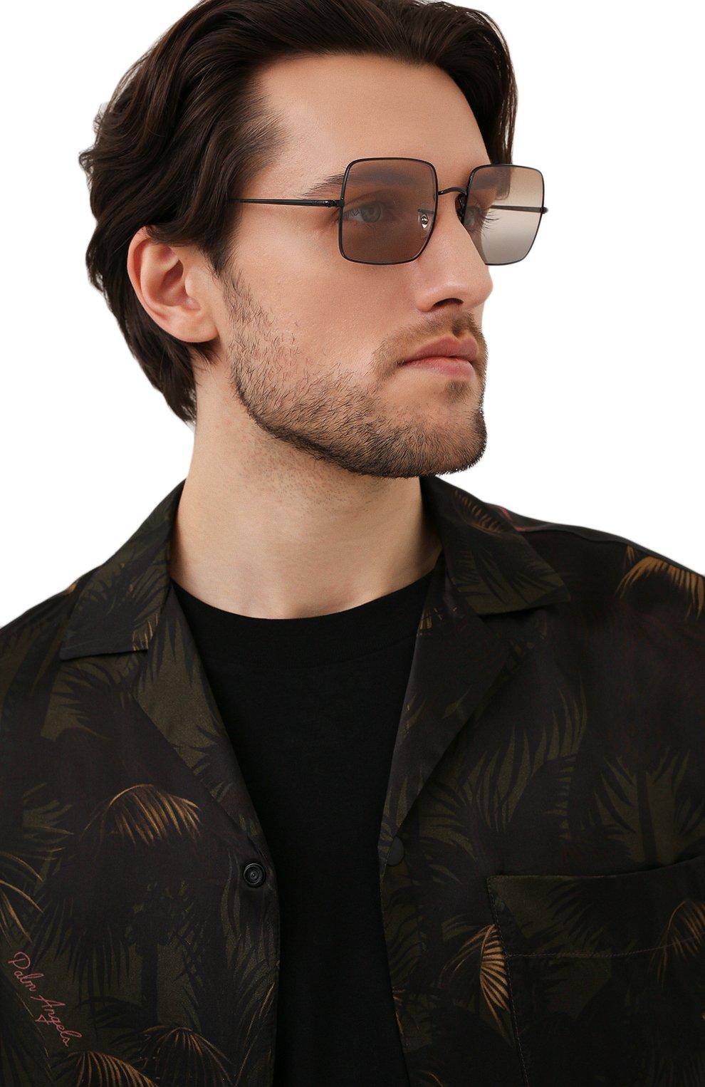 Женские солнцезащитные очки RAY-BAN черного цвета, арт. 1971-002/GG | Фото 3
