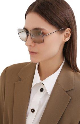 Женские солнцезащитные очки RAY-BAN бежевого цвета, арт. 1971-004/GH | Фото 2