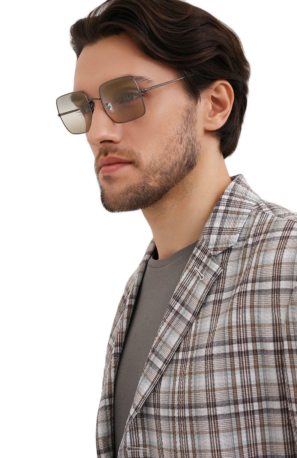 Женские солнцезащитные очки RAY-BAN бежевого цвета, арт. 1971-004/GH | Фото 3