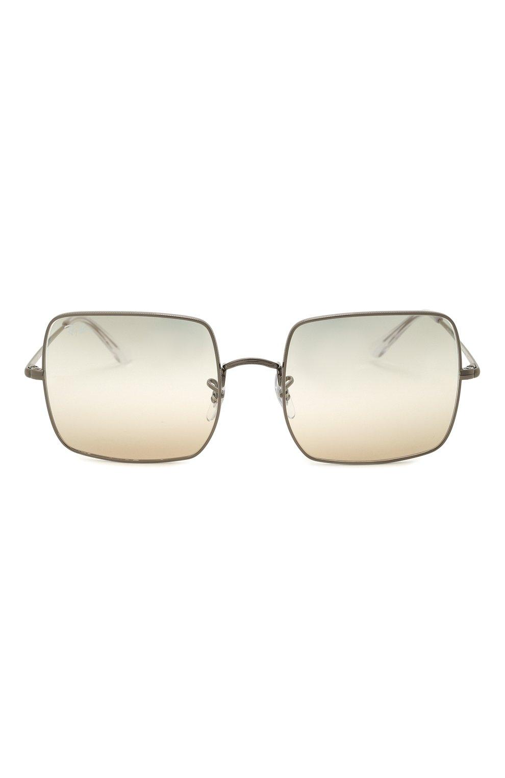 Женские солнцезащитные очки RAY-BAN бежевого цвета, арт. 1971-004/GH | Фото 4