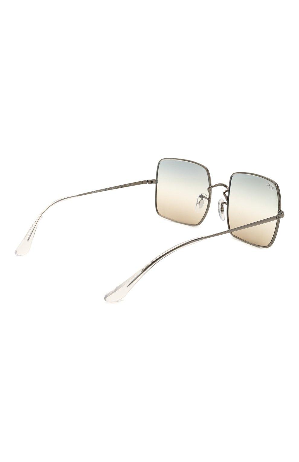Женские солнцезащитные очки RAY-BAN бежевого цвета, арт. 1971-004/GH | Фото 5