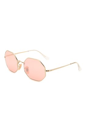 Женские солнцезащитные очки RAY-BAN розового цвета, арт. 1972-001/3E | Фото 1