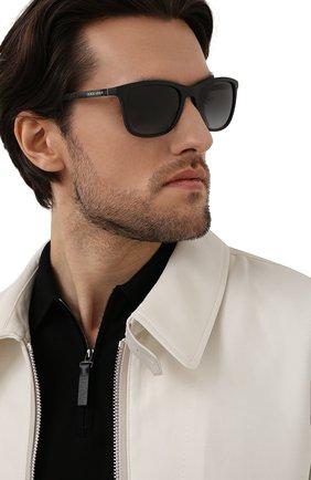 Мужские солнцезащитные очки GIORGIO ARMANI черного цвета, арт. 8087-5042T3   Фото 2