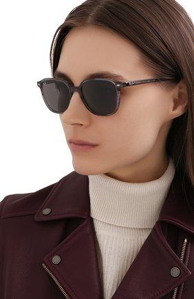 Женские солнцезащитные очки RAY-BAN серого цвета, арт. 2193-1314B1 | Фото 2