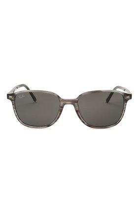 Женские солнцезащитные очки RAY-BAN серого цвета, арт. 2193-1314B1 | Фото 4