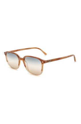 Женские солнцезащитные очки RAY-BAN светло-коричневого цвета, арт. 2193-1328GD | Фото 1