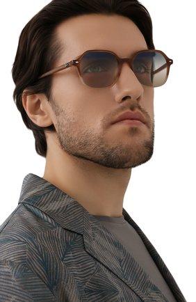 Женские солнцезащитные очки RAY-BAN светло-коричневого цвета, арт. 2194-1328GD | Фото 3