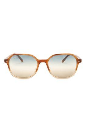 Женские солнцезащитные очки RAY-BAN светло-коричневого цвета, арт. 2194-1328GD | Фото 4
