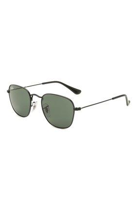 Детские солнцезащитные очки RAY-BAN черного цвета, арт. 9557S-287/71 | Фото 1