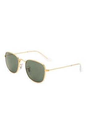 Детские солнцезащитные очки RAY-BAN зеленого цвета, арт. 9557S-286/71 | Фото 1
