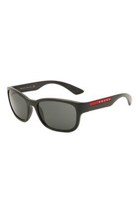 Мужские солнцезащитные очки PRADA LINEA ROSSA черного цвета, арт. 05VS-1B05S0 | Фото 1