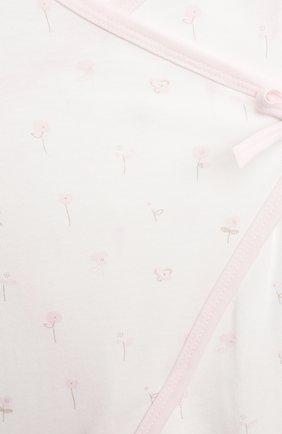 Детский комплект из комбинезона и лонгслива SANETTA светло-розового цвета, арт. 221630 | Фото 4