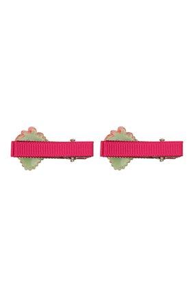 Детская комплект из двух заколок JUNEFEE разноцветного цвета, арт. 6118 | Фото 2
