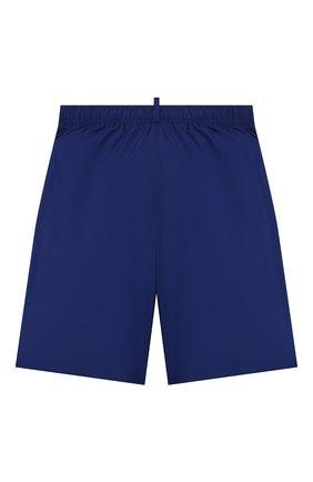 Детские плавки-шорты DSQUARED2 синего цвета, арт. DQ0278-D00QK | Фото 2