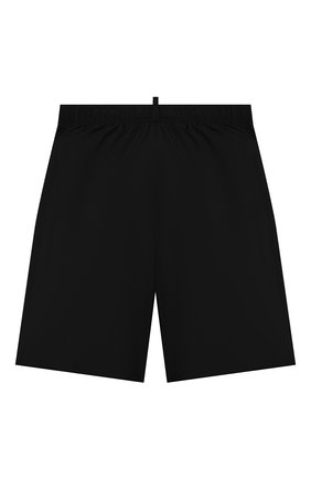 Детские плавки-шорты DSQUARED2 черного цвета, арт. DQ0278-D00QK | Фото 2