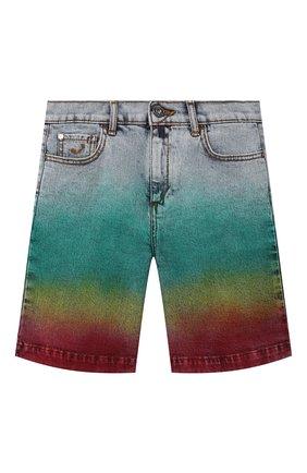 Детские джинсовые шорты JACOB COHEN разноцветного цвета, арт. P1317 T-02010-W7   Фото 1