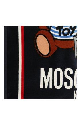 Детского хлопковое полотенце MOSCHINO синего цвета, арт. HUX01B/LGA10 | Фото 2