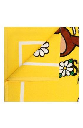 Детского хлопковое полотенце MOSCHINO желтого цвета, арт. HDX00W/LGA10 | Фото 1