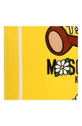 Детского хлопковое полотенце MOSCHINO желтого цвета, арт. HDX00W/LGA10 | Фото 2