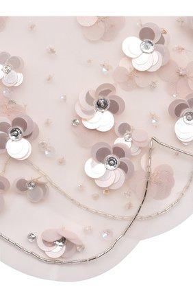 Детский накидка TUTU DU MONDE розового цвета, арт. TDM6368 | Фото 3 (Материал: Текстиль; Рукава: Короткие; Материал внешний: Синтетический материал)