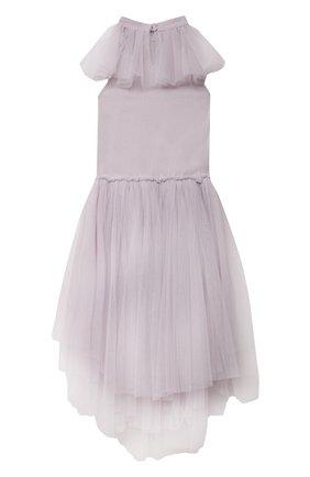 Детское хлопковое платье TUTU DU MONDE сиреневого цвета, арт. TDM6425/4-11 | Фото 2