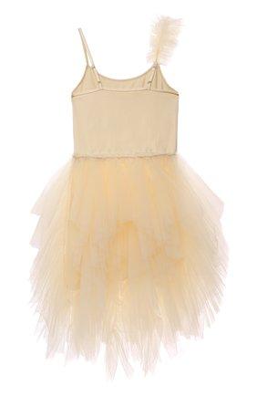Детское платье TUTU DU MONDE желтого цвета, арт. TDM6423/4-11 | Фото 2