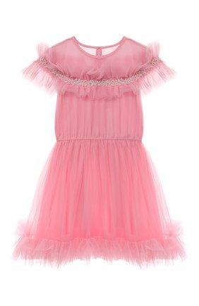 Детское платье TUTU DU MONDE розового цвета, арт. TDM6250/4-11 | Фото 1