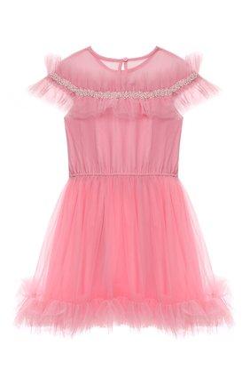 Детское платье TUTU DU MONDE розового цвета, арт. TDM6250/4-11 | Фото 2