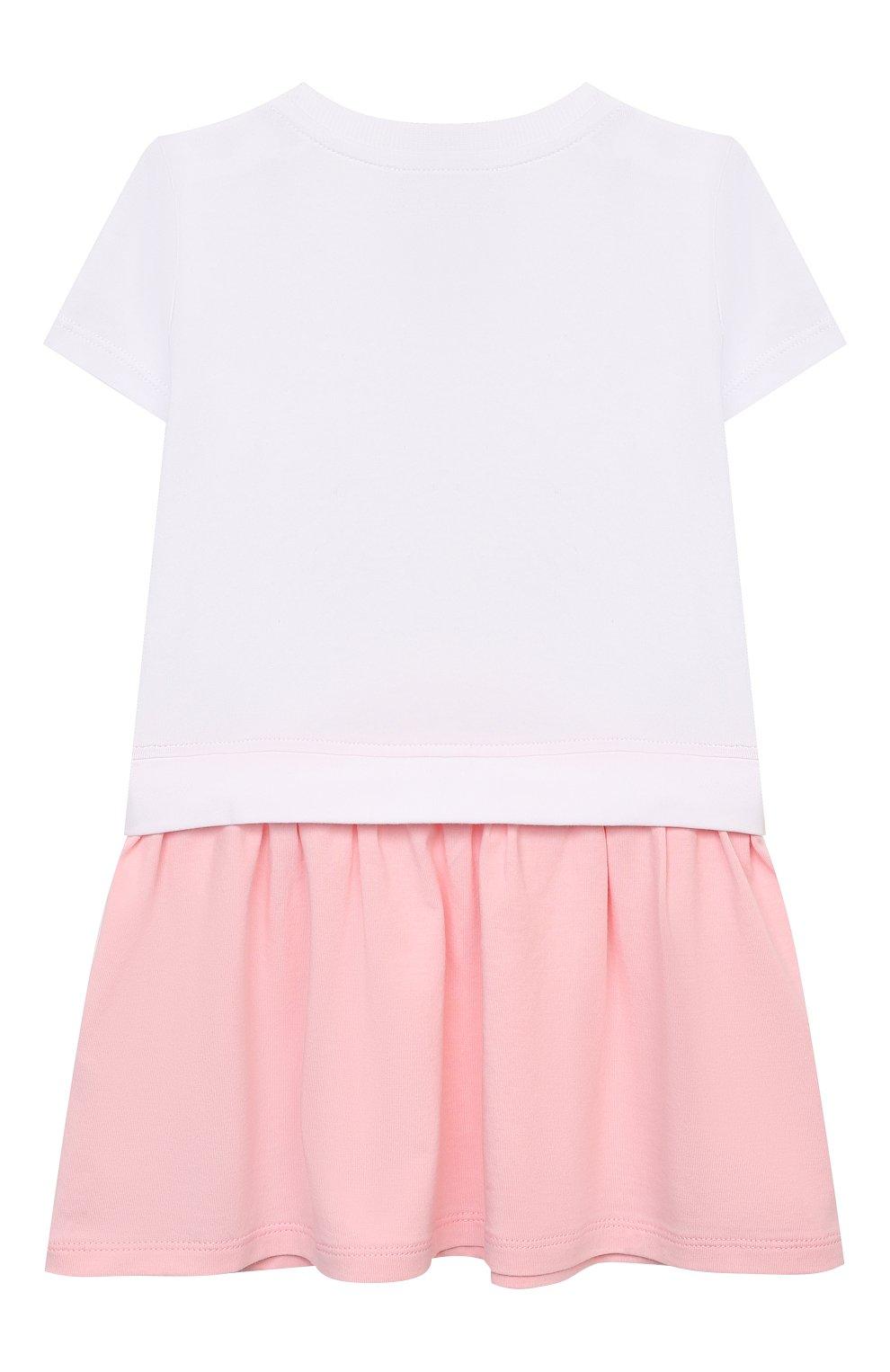 Женский комплект из платья и шорт MOSCHINO розового цвета, арт. MDV08R/LBA00 | Фото 3