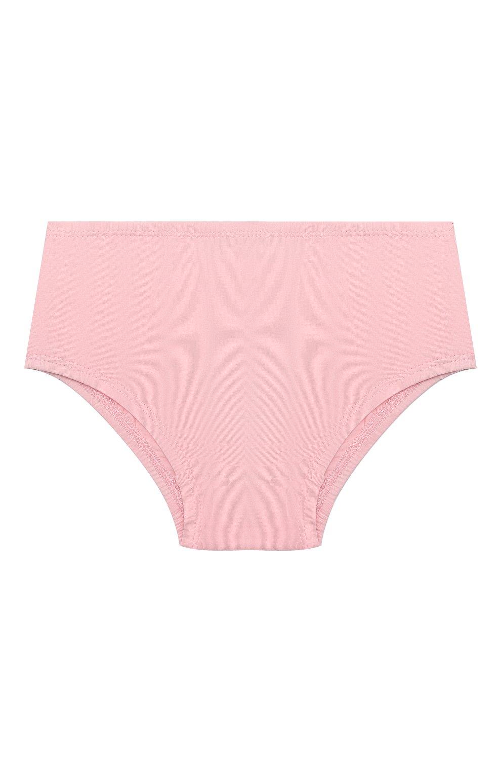 Женский комплект из платья и шорт MOSCHINO розового цвета, арт. MDV08R/LBA00 | Фото 4