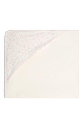 Детского комплект из полотенца и рукавицы KISSY KISSY розового цвета, арт. 48609 | Фото 3