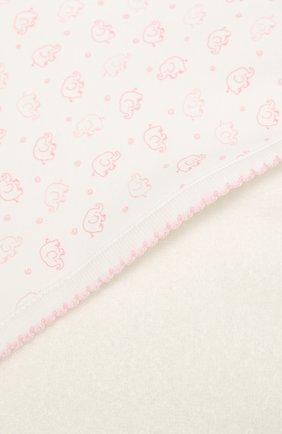 Детского комплект из полотенца и рукавицы KISSY KISSY розового цвета, арт. 48609 | Фото 4