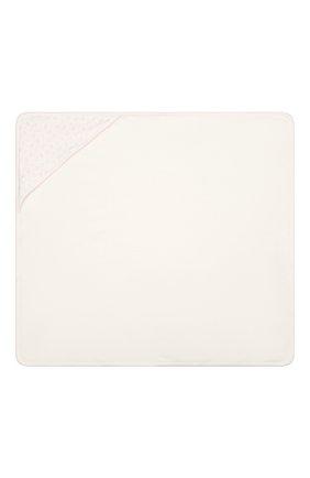 Детского комплект из полотенца и рукавицы KISSY KISSY розового цвета, арт. 48609 | Фото 5