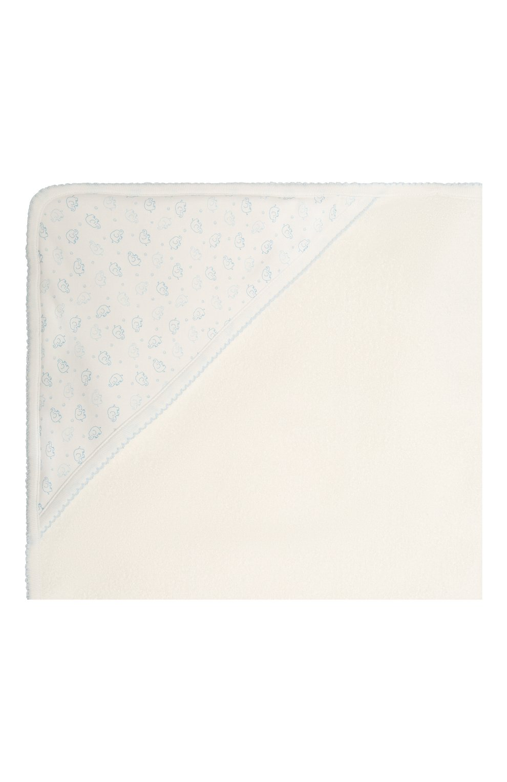 Детского комплект из полотенца и рукавицы KISSY KISSY голубого цвета, арт. 48609 | Фото 3