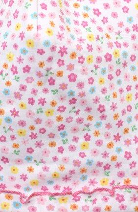 Детского хлопковая шапка KISSY KISSY розового цвета, арт. KG506003N | Фото 3 (Материал: Текстиль, Хлопок)