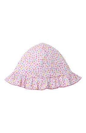 Детская хлопковая панама KISSY KISSY розового цвета, арт. KG506004N | Фото 4