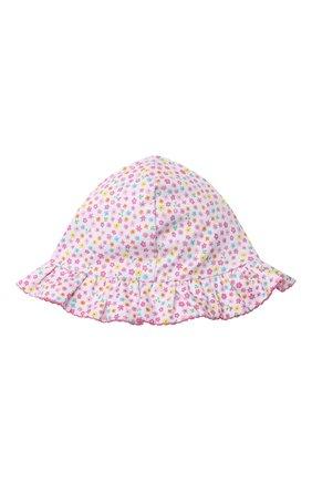 Детская хлопковая панама KISSY KISSY розового цвета, арт. KG506004N | Фото 5