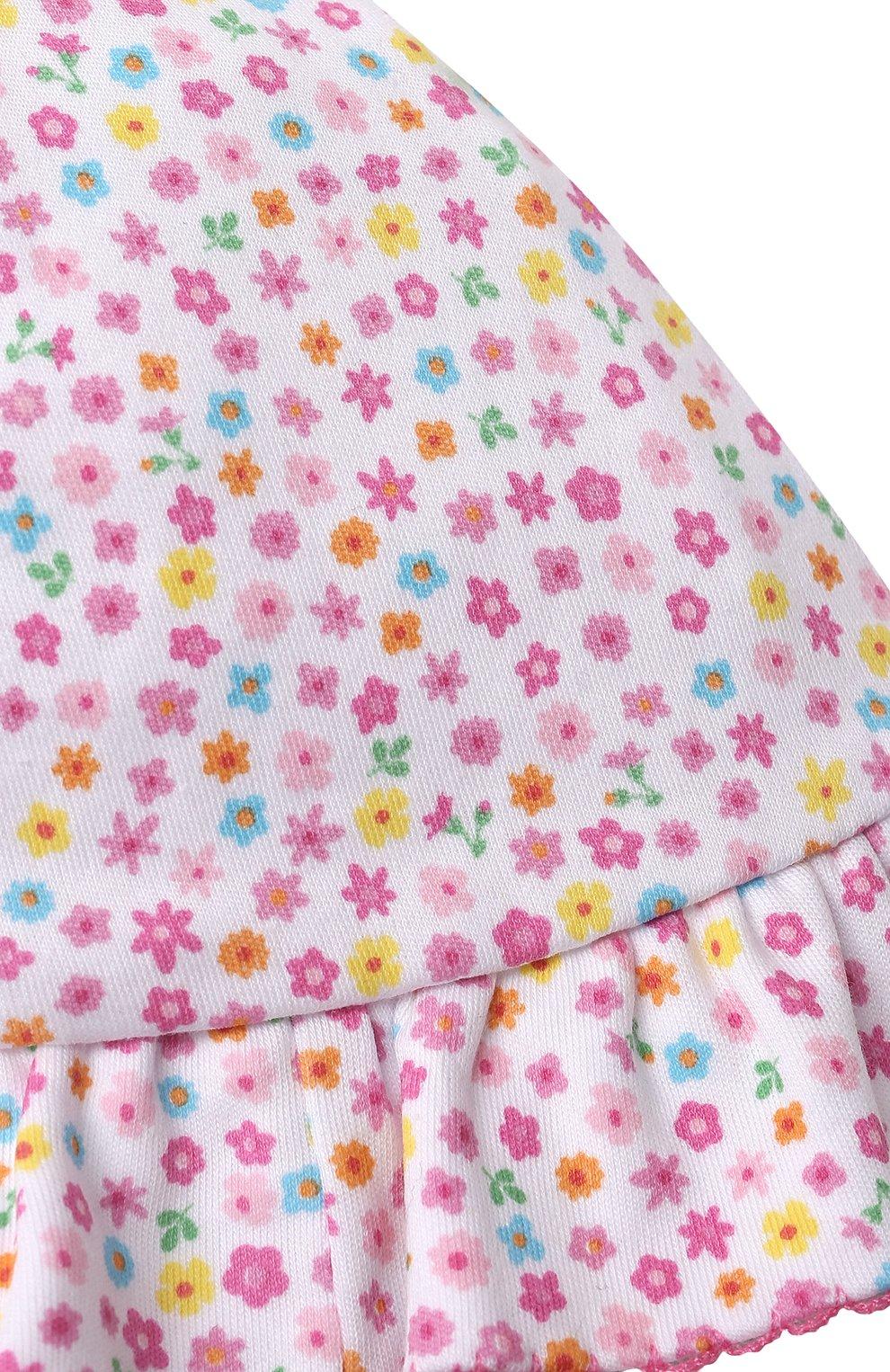 Детская хлопковая панама KISSY KISSY розового цвета, арт. KG506004N | Фото 6