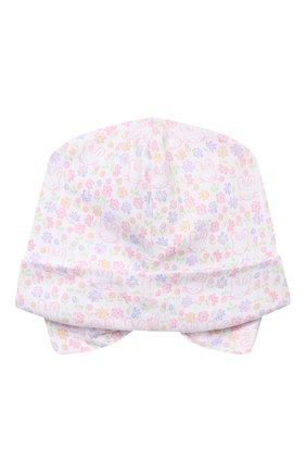 Детского хлопковая шапка KISSY KISSY разноцветного цвета, арт. KG506217N | Фото 2