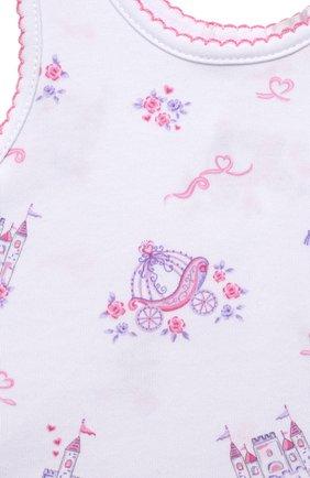 Детское хлопковое боди KISSY KISSY розового цвета, арт. KGD05907I | Фото 3