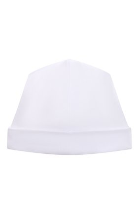 Детского хлопковая шапка KISSY KISSY белого цвета, арт. KN505985N | Фото 2